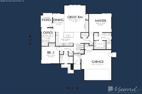 Ranch House Plan 1169ES The Modern Ranch: 1608 Sqft 3