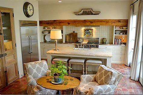 Small, Cozy, Frenchinspired Kitchen Kitchens