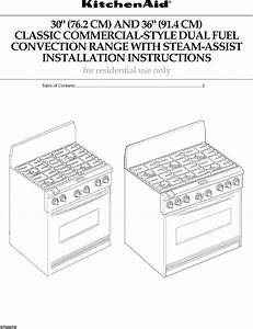 Kitchenaid Kdrp767rss01 User Manual Dual Fuel Freestanding