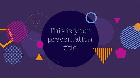 modern  bold powerpoint template  google