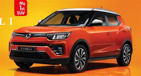 Facelifted SsangYong Tivoli Bows In Korea With New Turbo ...