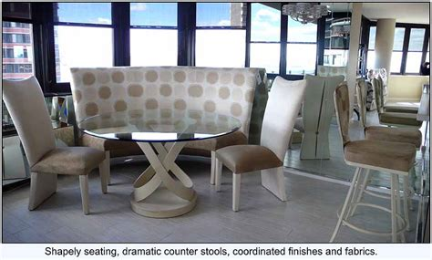 Curved Dining Settee by Modern Furniture Contemporary Furniture Custom Area