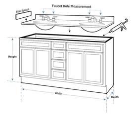 ideas for bathroom vanities standard bathroom sink cabinet dimensions bathroom design