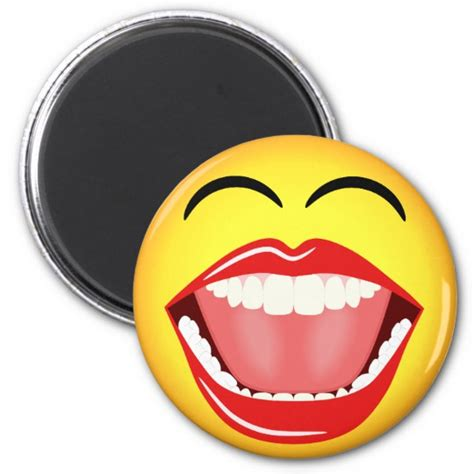 smiley face lol humor laughing funny  magnets