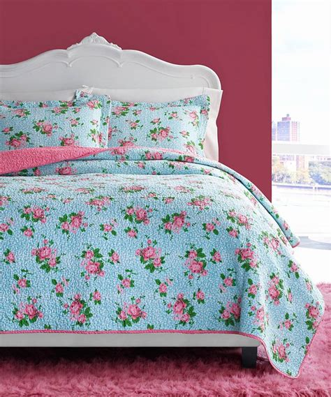 34011 betsey johnson bedding look what i found on zulily leopard floral quilt set by