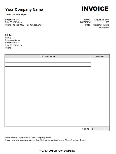 invoice template uk mac invoice