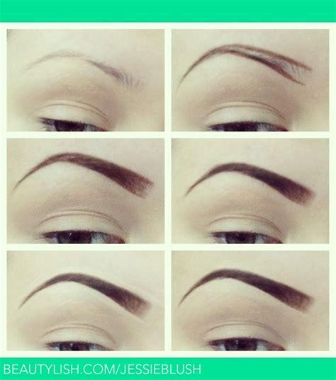 eyebrow tutorial jessica bs jessieblush photo