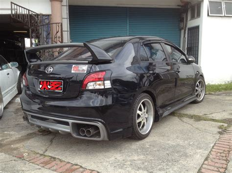 toyota vios  customized bodykit  perfect design