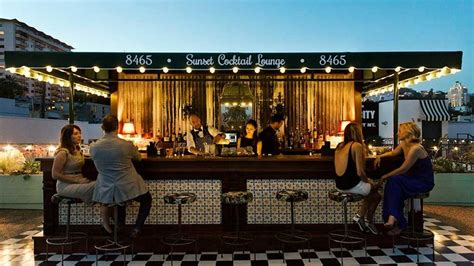 west hollywoods  rooftop bars passport