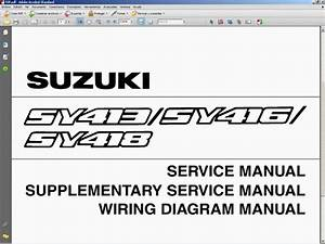 Suzuki Baleno Service Manual - Manual De Taller