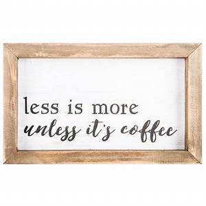 unless it39s coffee wood wall decor hobby lobby 1316066 With best brand of paint for kitchen cabinets with hobby lobby metal wall art