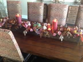fall centerpiece for dining room table beautiful pinterest