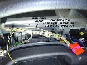 Audi Area  Audi A8 Shorting The Front Brake Pad Sensor Warning Light To Ground