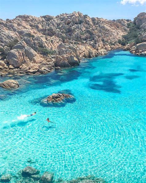 Cala Coticcio Caprera Sardinia Italy 行ってみたい場所