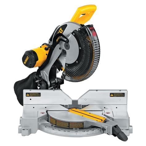 Shop Dewalt 12in 15amp Dual Bevel Compound Miter Saw At