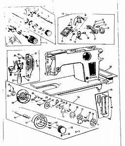 Kenmore Sewing Machine Parts Diagram  U2013 Singer Sewing Machine Parts Diagram Daytonva150   40 More