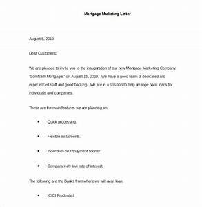 Marketing letter template 38 free word excel pdf for Sample mortgage marketing letters