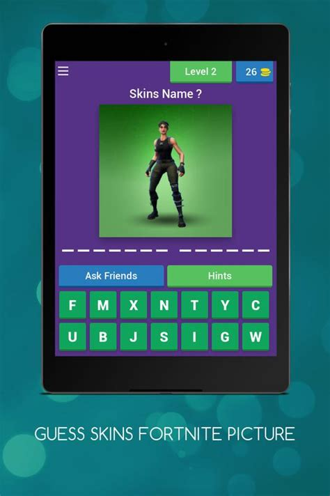 guess  fortnite skins quiz  android apk