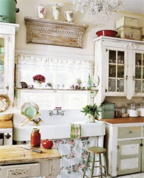 shabby chic ideas for kitchen shabby chic kitchen ideas design a room pinterest