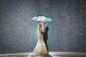 After Jessica and Nick Gower's rainy wedding photo, more ...