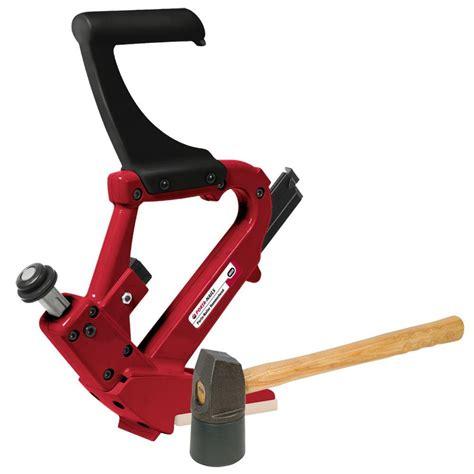 home depot flooring nailer rental porta nails 16 gauge manual hardwood flooring nailer 402a the home depot