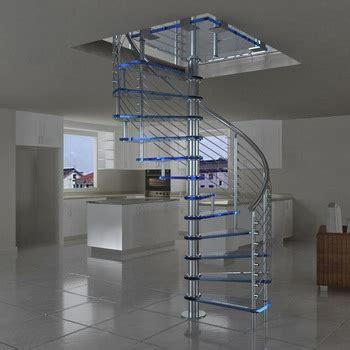 prefabricated  design exterior stainless steel spiral