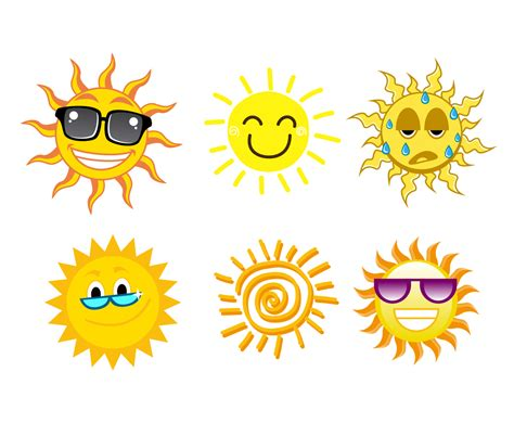 Free Cartoon Sun Vector Vector Art & Graphics