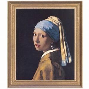 Das Mädchen Mit Dem Perlenohrring Gemälde : vermeer van delft jan das m dchen mit dem perlenohrring 1665 online bestellen zeit shop ~ Watch28wear.com Haus und Dekorationen