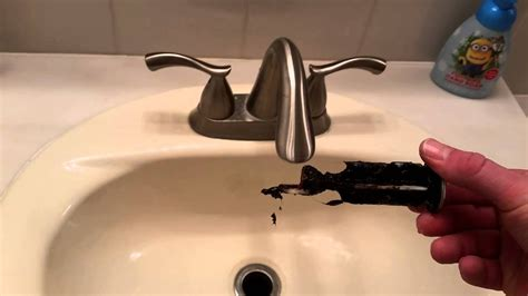 How To Stop A Bathroom Sink Faucet From by Bathroom Sink Fix How To Remove And Clean The