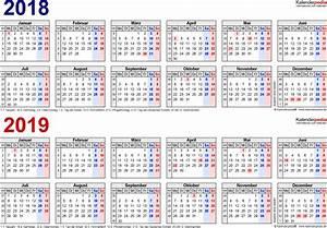 Kalender 18 19 : zweijahreskalender 2018 2019 als word vorlagen zum ~ Jslefanu.com Haus und Dekorationen