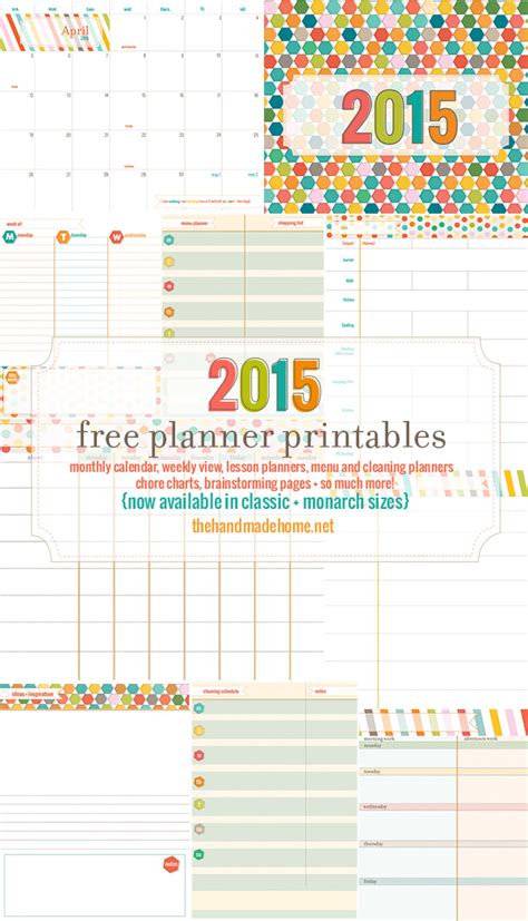 calendar  planning set