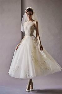 25 Timelessly Beautiful Tea Length Wedding Dresses