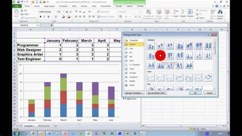 create  stacked chart  excel  youtube