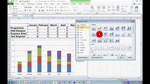 How To Create A Stacked Chart In Excel 2010 Doovi
