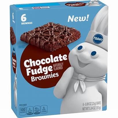 Pillsbury Snack Cakes Fudge Chocolate Brownies Walmart