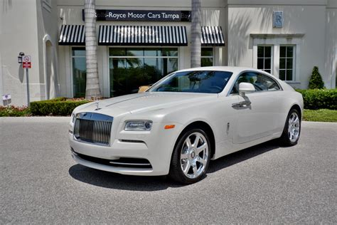 Rare Rolls Royce Wraith In Carrara White For Sale