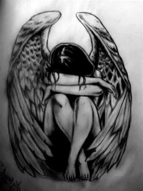 60+ Wonderful Fallen Angel Tattoos & Designs With Meanings