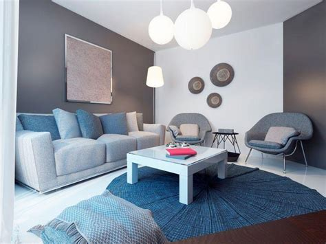 sala sofa cinza e poltrona azul sof 225 cinza 50 fotos para aproveitar a versatilidade da pe 231 a