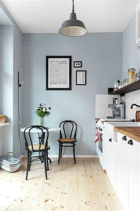 peinture cuisine bleu 1001 idées pour décider quelle couleur pour les murs d