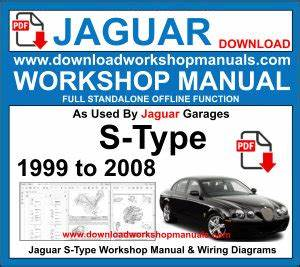 Jaguar S Type Workshop Manual Download