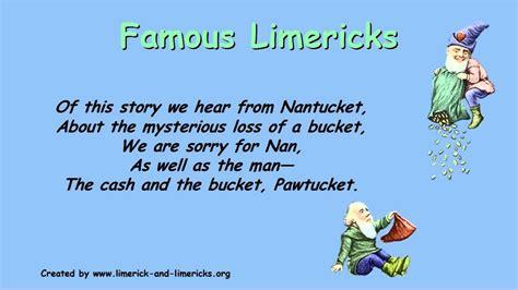 limerick poems exles by poets creativepoem co