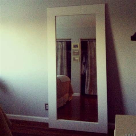 mirror repurposed from sliding closet door 4 of