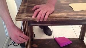 decaper un vieux meuble conseil restauration bois youtube With comment decaper un meuble en bois vernis