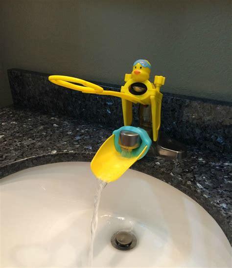 aqueduck handle faucet extenders momma  flip flops