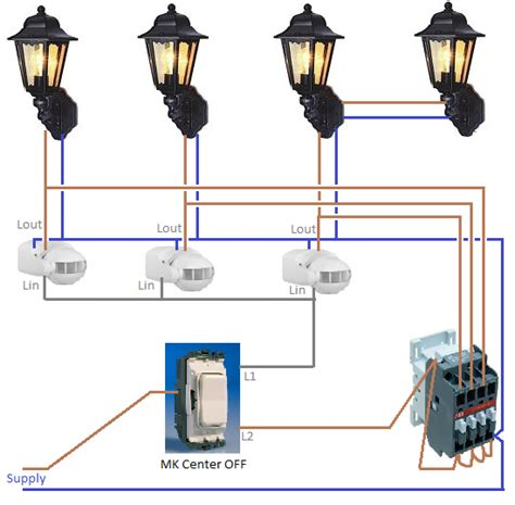 Wiring Outdoor Lights Lighting Ceiling Fans