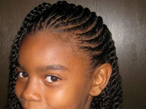 African American Haircut Ideas; Cute Braids Hairstyles For