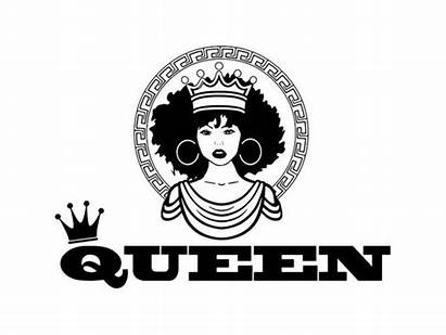 Queen Nubian Afro African Woman Hair Princess