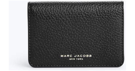 Marc Jacobs Gotham Business Card Case In Black Best Video Business Cards From Walmart For Qantas Points Tattoo Background Photo Colours With Yellow Black Edges