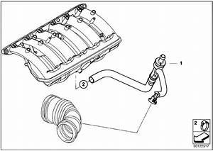 Original Parts For E60 530i M54 Sedan    Engine   Vacuum