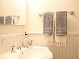 how to install a bathroom towel bar how tos diy With where to put towel bar in small bathroom